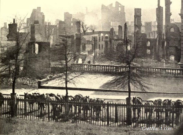 American Civil War - The Ruins of Richmond